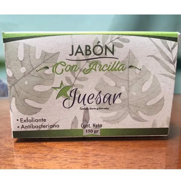 Jabón exfoliante de Arcilla