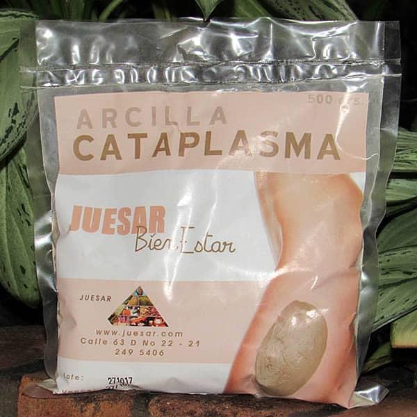 Arcilla en Cataplasma