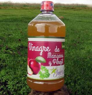 Vinagre de Manzana con Perejil
