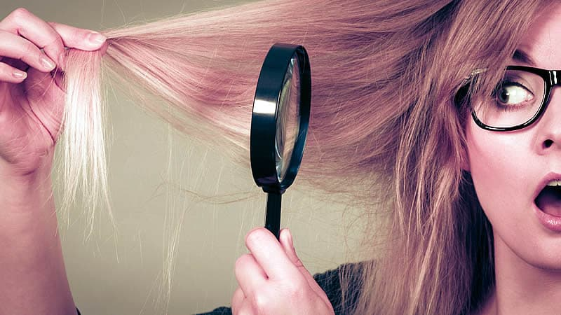 Tratamiento natural para puntas quebradas del cabello
